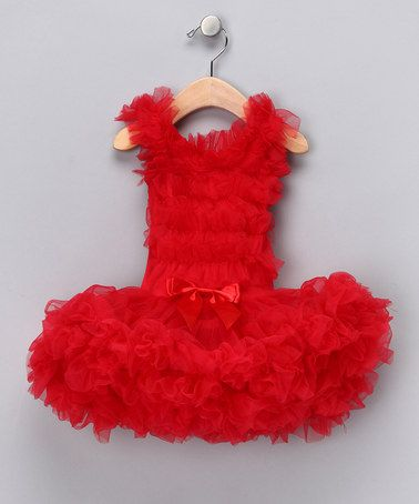 Take a look at this Red Skirted Tutu Bodysuit - Infant, Toddler & Girls by Popatu by Posh on #zulily today!