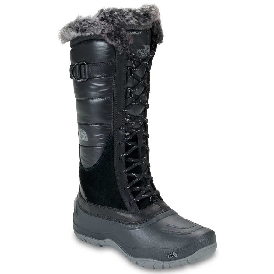 THE NORTH FACE WOMEN'S SHELLISTA LACE Shiny TNF Black/TNF Black | Durable,  water. Northface BootsTall ...