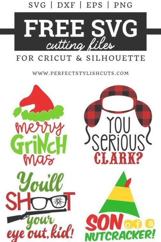 Download FREE Christmas Movie SVG Files for Cricut Projects and ...