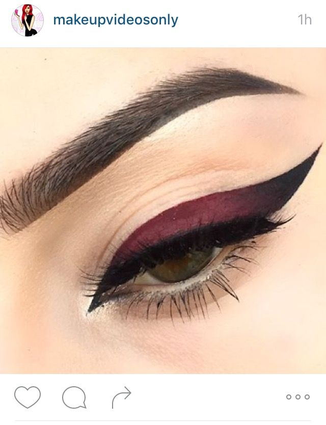 Photoshopped eyeliner