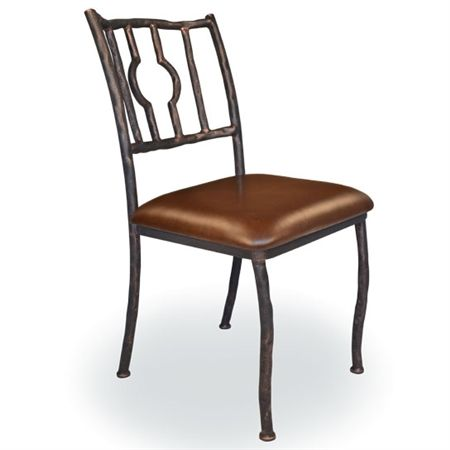 Corinthian Dining Side Chair Wrought Iron Side Chairs Dining