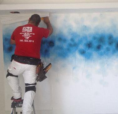 Wallpaper Wallcovering Contractors Miami D L Wall Design Wall Design Wall Coverings Wallpaper
