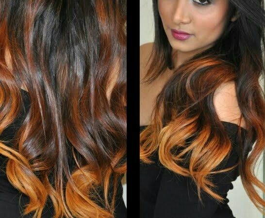 Balayage cobrizo | Easy hairstyles and new styles ...