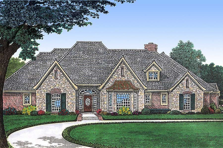 Plan 48284fm Top Of The Line European House Plan European House Plans European House Plan European House