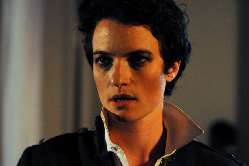 """Sarah Rose Roth in the Ganemeed Theatre Project's """"Hamlet."""" Photo by Andrew Brilliant/Brilliant Pictures, Inc."""