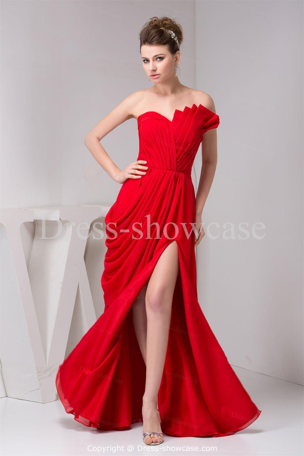 Red Bridesmaid Dresses 2014
