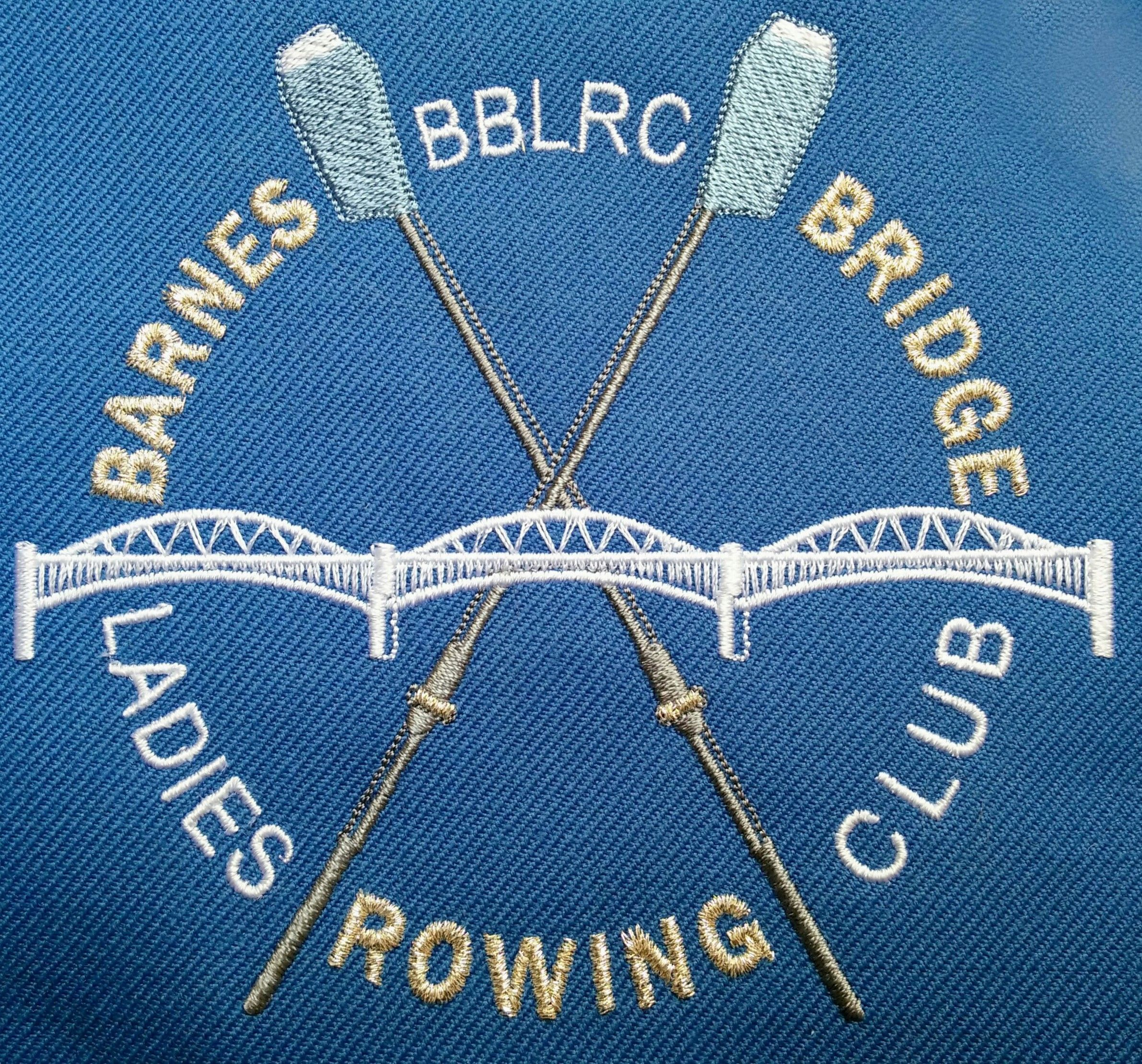 Barnes Bridge BBLRC embroidery by PHT for C&R blazers ...