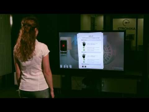 ETRONIKA Kinect Banking App