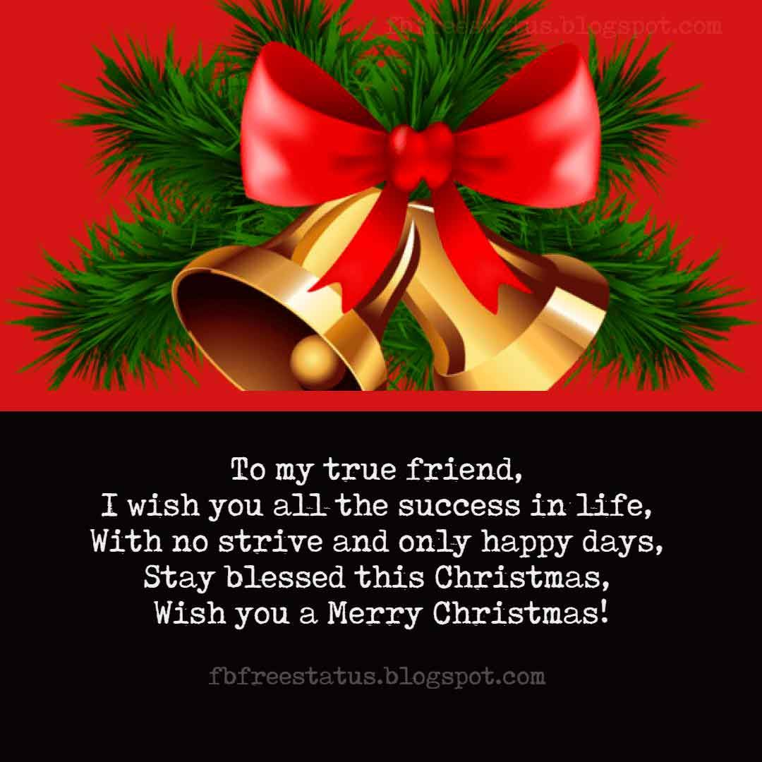 Merry Christmas Wishes for Friends with Christmas Wishes Images ...