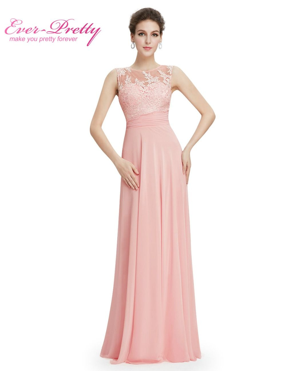 Elegant light pink chiffon long bridesmaid dresses ep08760 2017 elegant light pink chiffon long bridesmaid dresses ep08760 2017 vestido formal dress floor length sleeveless bridesmaid ombrellifo Gallery