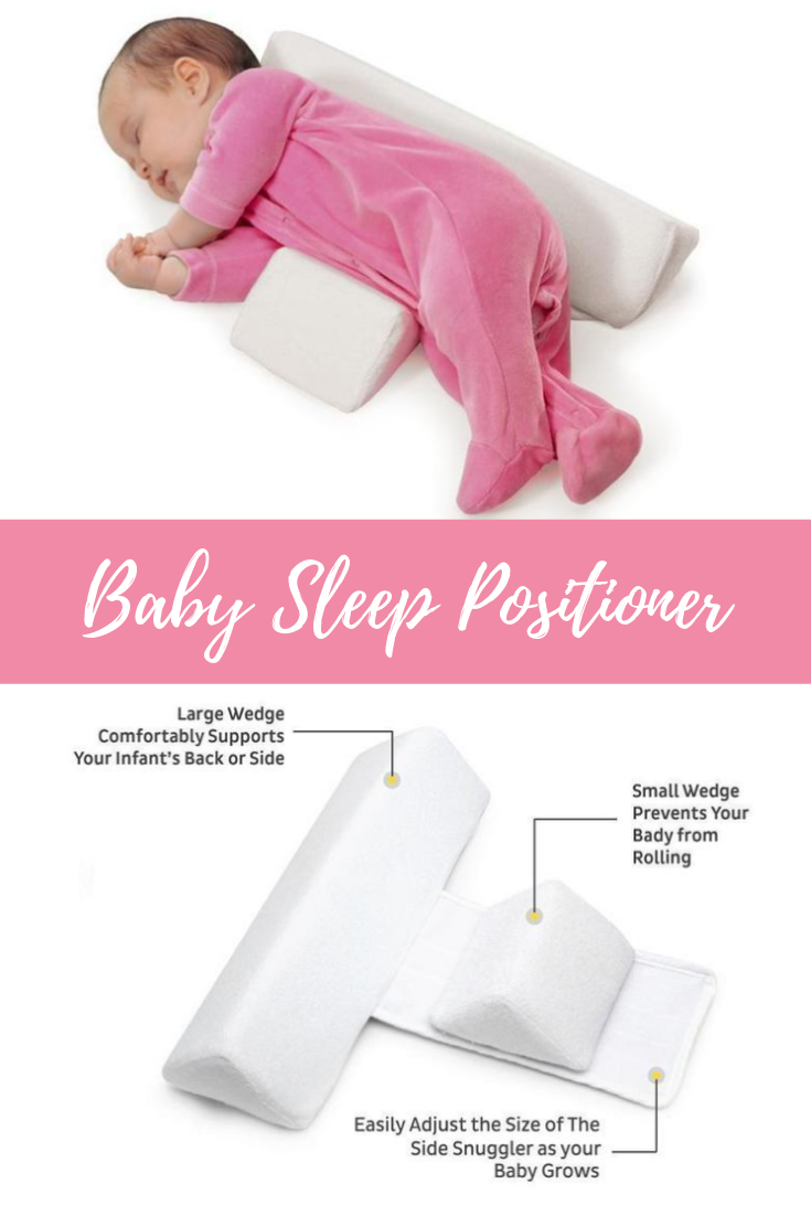 Detachable Infant Sleep Pillow Support Wedge Adjustable Width For Baby Newborn