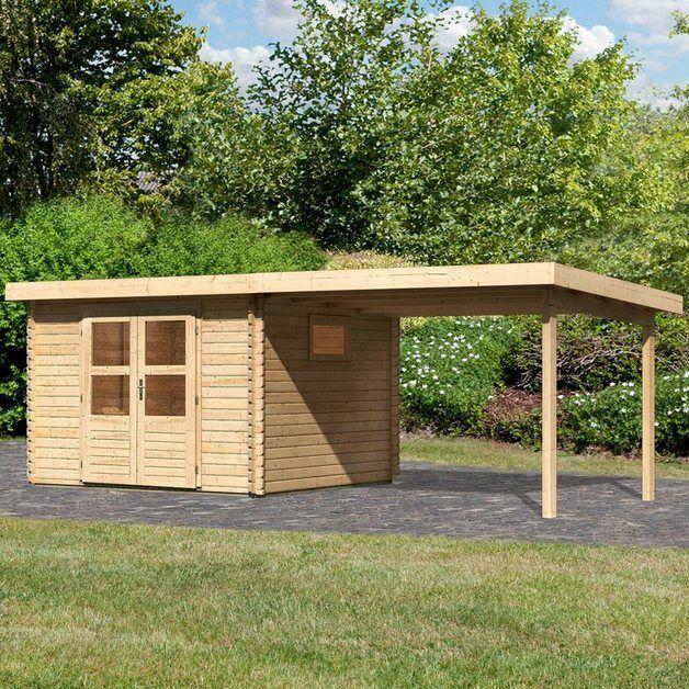 Set Gartenhaus »Hartsee 3«, BxT 617x333 cm, mit
