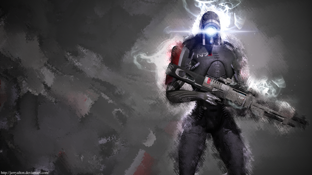 Legion Wallpaper By Jerryalton Mass Effect Universe Mass