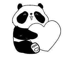 Resultado De Imagen De Oso Panda Para Colorear Etiket çizim