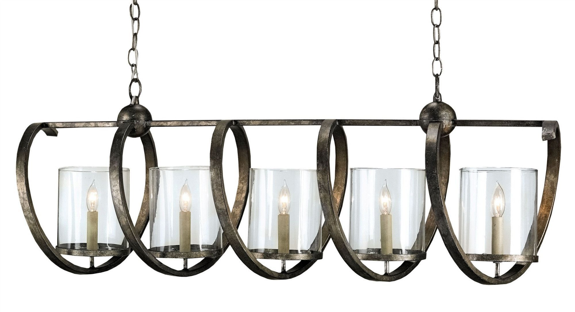 Maximus Rectangular Chandelier design by Currey & Company ...