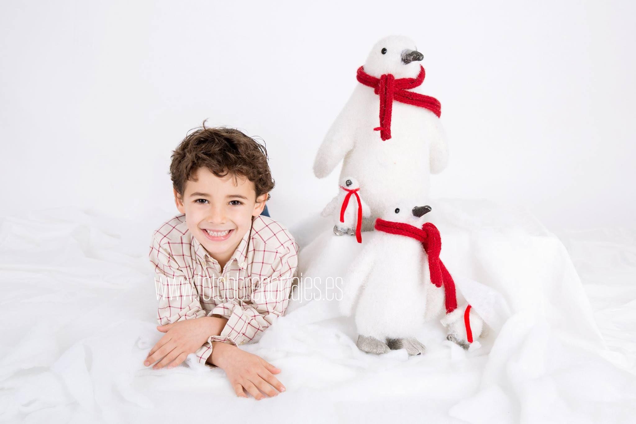 Fotografía de Navidad de niños, bebés y familias