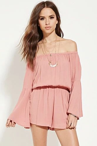 7172691c4512d Off-the-Shoulder Romper