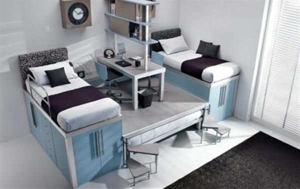 Funtastic Cool Bunk Beds And Lofts For Kids And Teenagers Bedroom Furniture For Small Spaces Cool Kids Bedrooms Small Bedroom