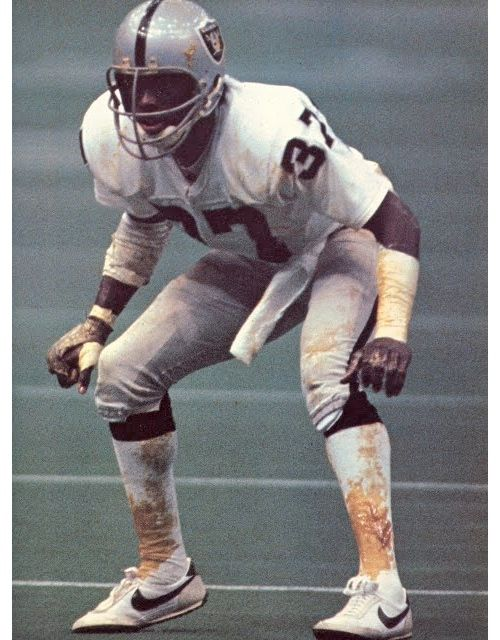 Lester Hayes Check Out The Stickum All Over His Socks And