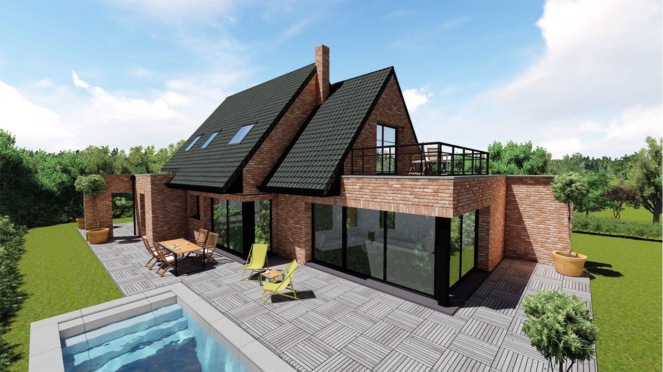 pingl par maisonneuve sur maisonneuve pinterest maisons traditionnelles briques et. Black Bedroom Furniture Sets. Home Design Ideas