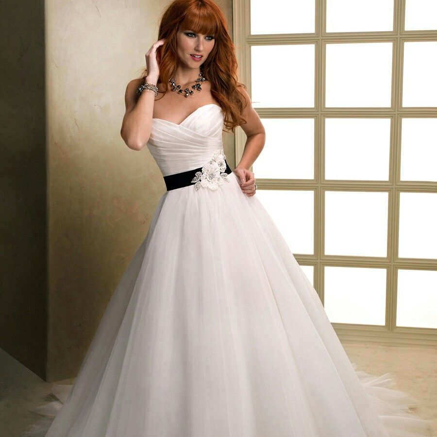 Asymmetrical ruched cross sweetheart ball gown wedding dresses with