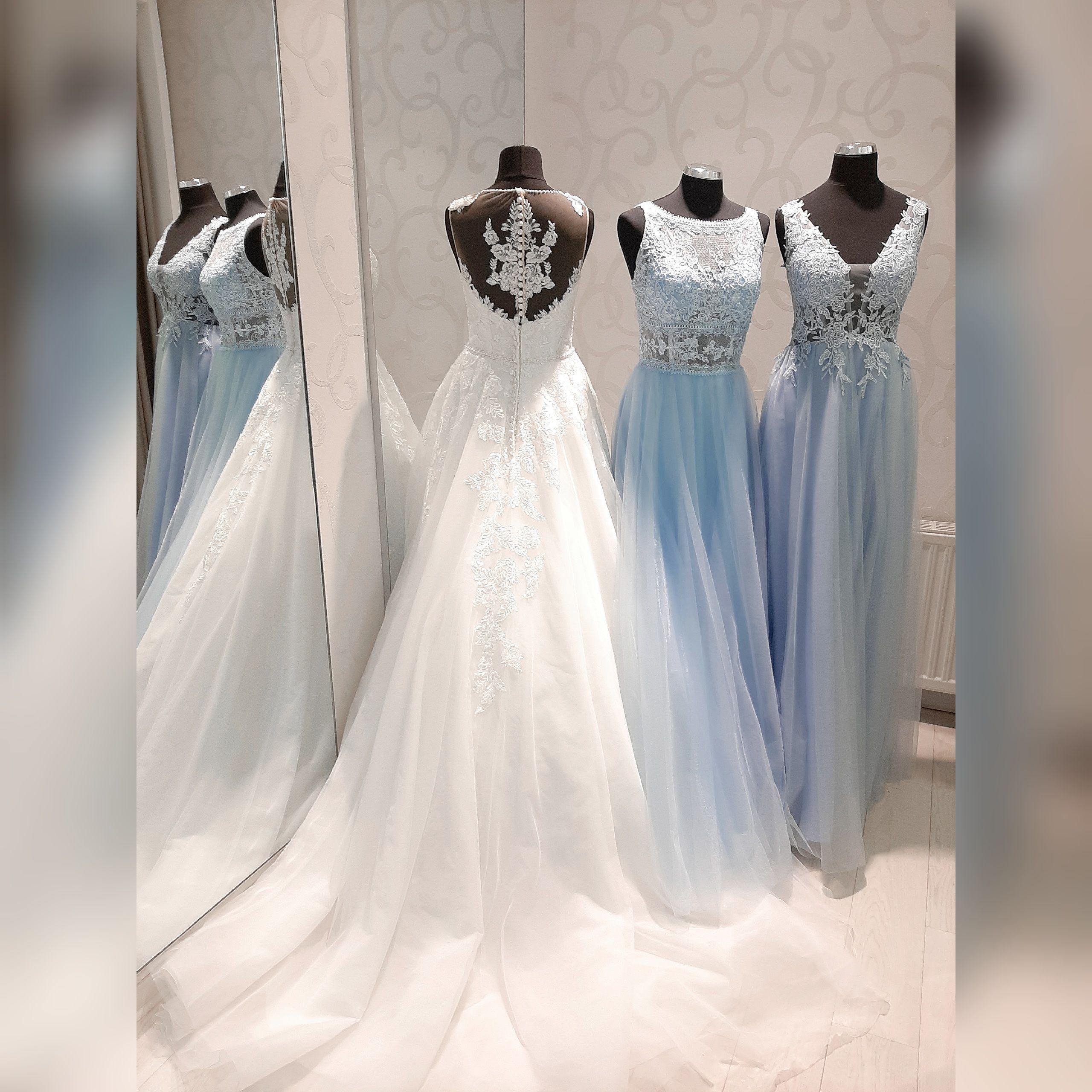 Ozeanblue pastell Abendkleider in 11  Kleid hochzeit