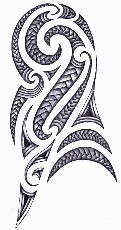 Maori Tattoo Design In Fact Traditional Maori Tattoo Designs Are
