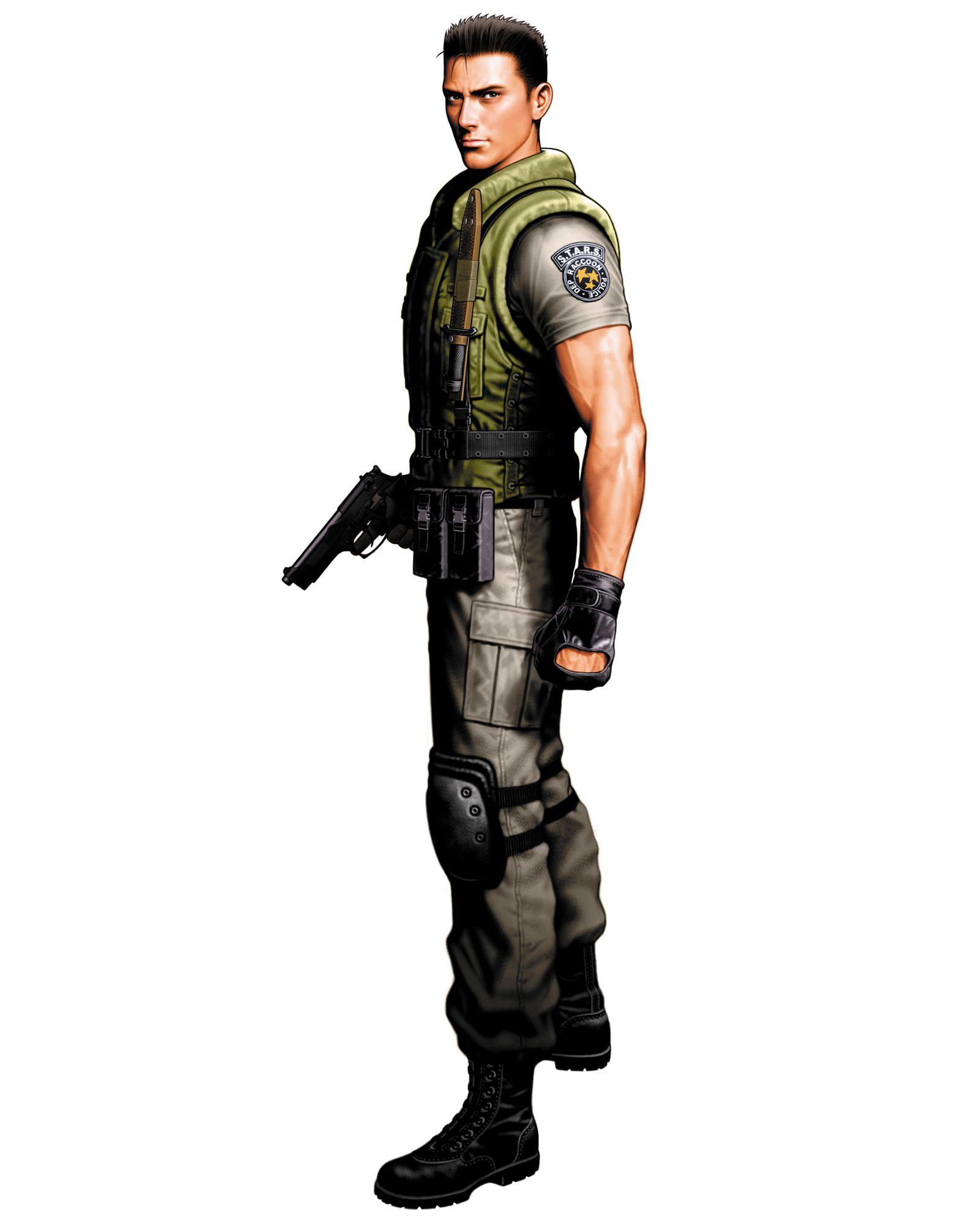 Chris Redfield Vs Mode Resident Evil Marvel Vs Capcom Evil