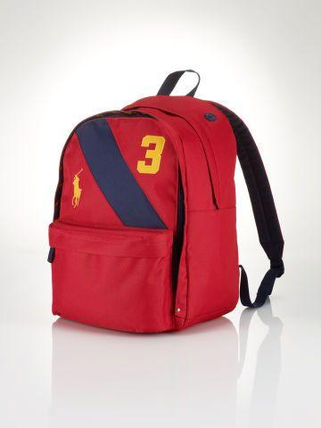 92a90486ec48 Banner-Striped Backpack - Children Accessories - RalphLauren.com ...