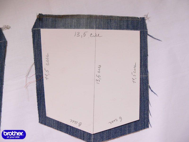 c63473875b1 Как шить  Накладной карман с вышивкой и лентами Brother-Friends.Ru