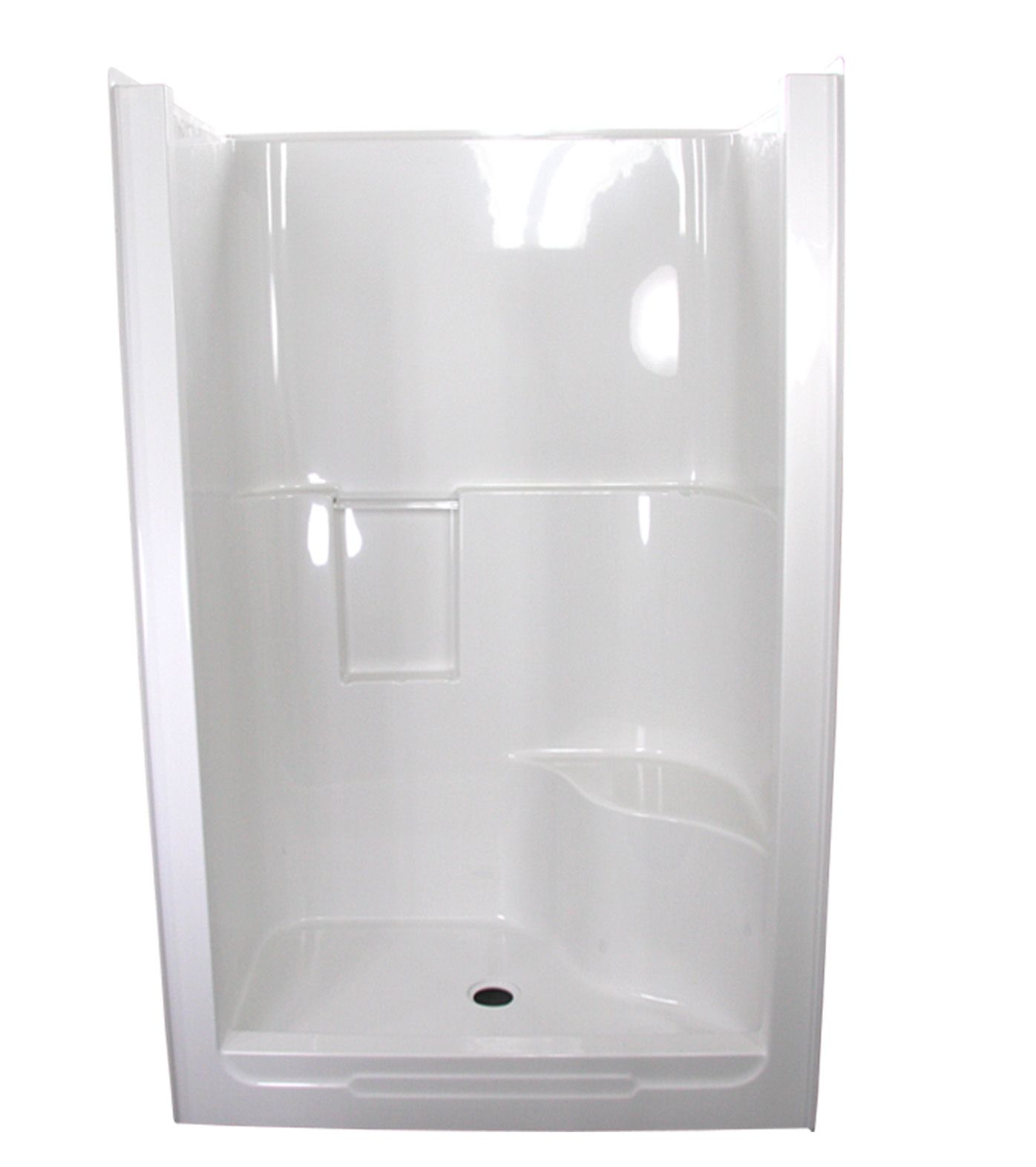 One Piece Fiberglass Shower Stalls Bing Images