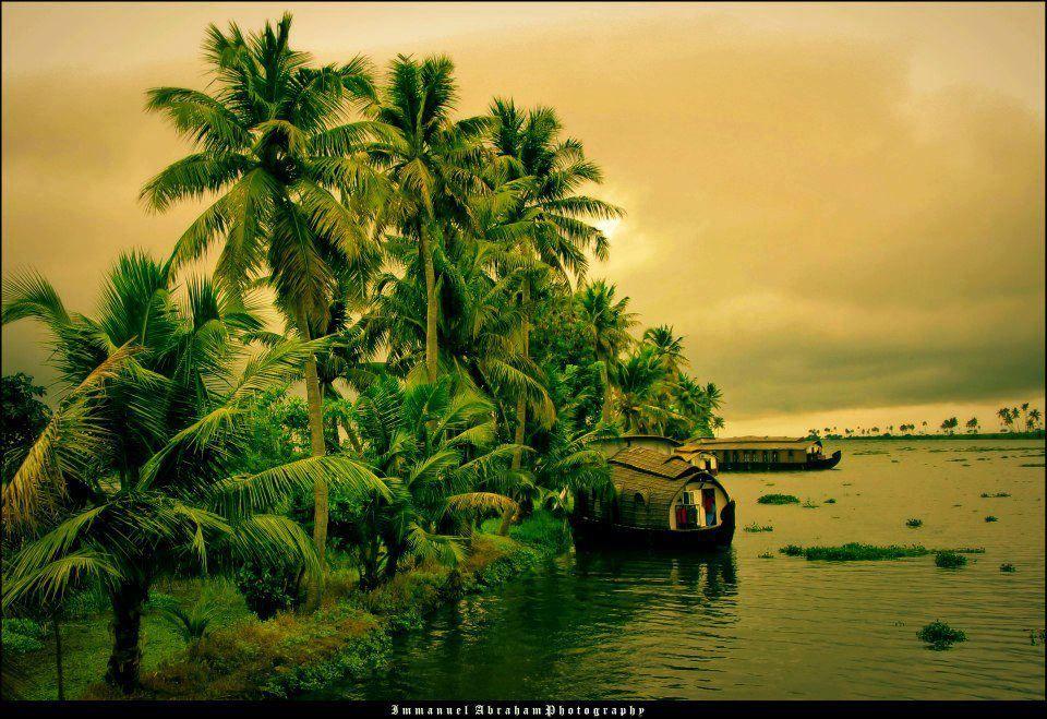 Wonderful Nature Enjoying Visions Of Nature Kerala Backwaters