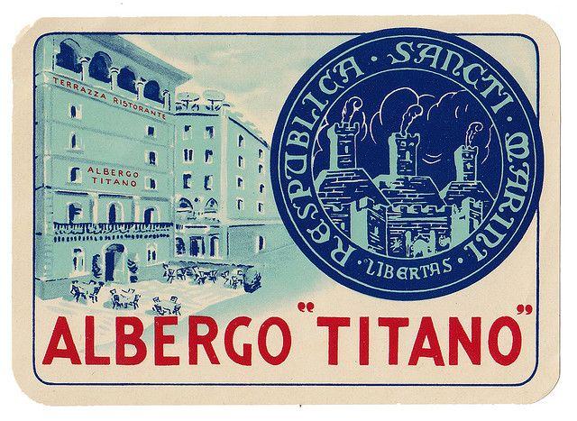 San Marino - Albergo Titano