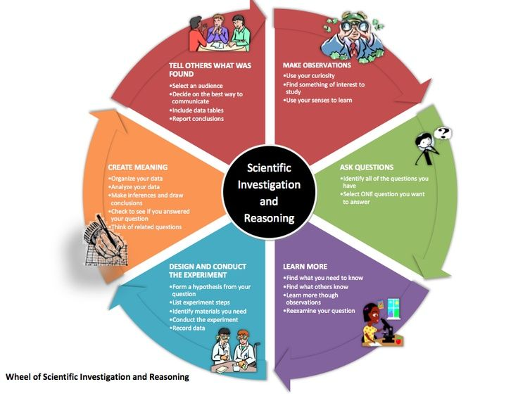 Wheel of Scientific Investigation and Reasoning- love this ...