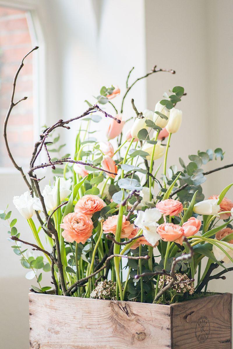 hochzeitsblumen tulpen und ranunkeln fr hling retro flowers spring. Black Bedroom Furniture Sets. Home Design Ideas