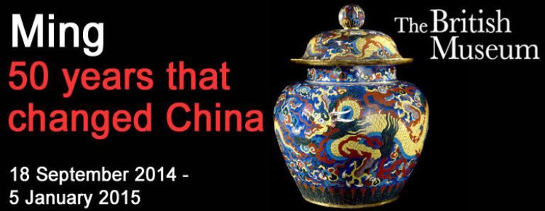 Discover 15th-century rare treasures from China's famous Ming Dynasty at the British Museum's exhibition Ming: 50 Years that Changed China.  http://bit.ly/1yJxPs9