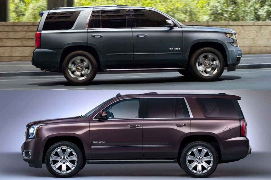 2020 Chevrolet Tahoe Vs 2020 Gmc Yukon What S The Difference Chevrolet Tahoe Sport Utility Vehicle Fuel Economy