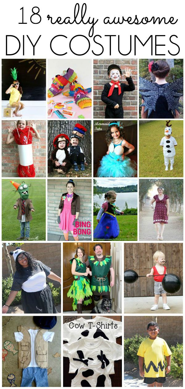 seasonal style\ - halloween homemade costume ideas