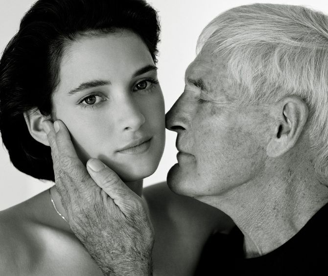 Winona Ryder and her Godfather Timothy Leary
