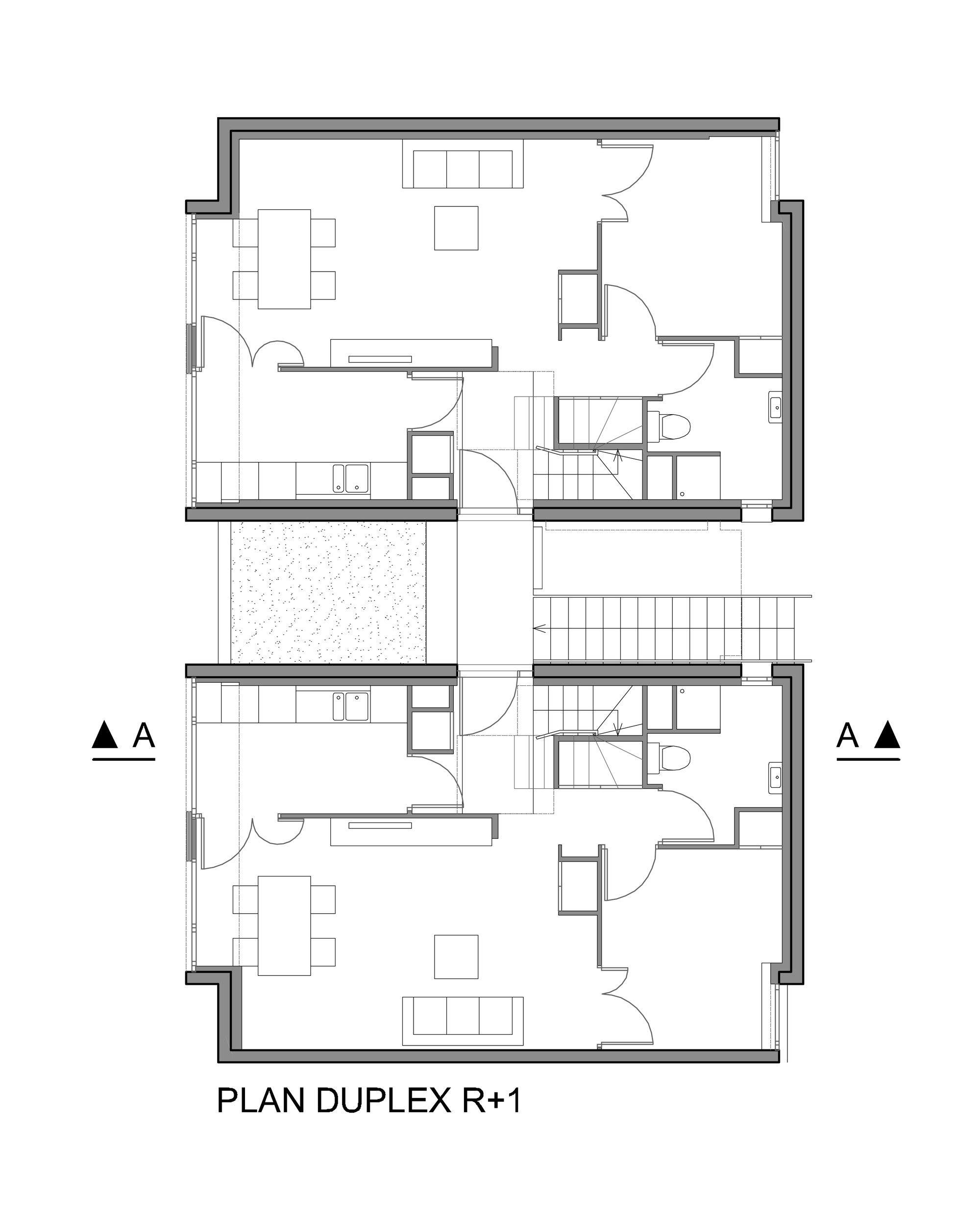 Gallery of 38 Social Housing in Eaubonne LEM 13 – Social Housing Plans