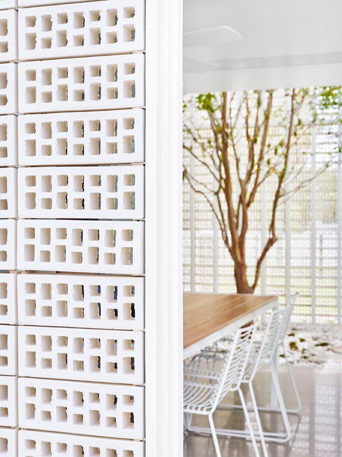 Elegant Breeze | Perforated Cement Block Mais · Australian ArchitectureBrick HousesBarn  ...