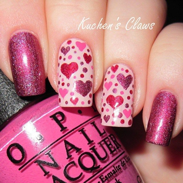 55 Valentines Day Nail Designs We Love