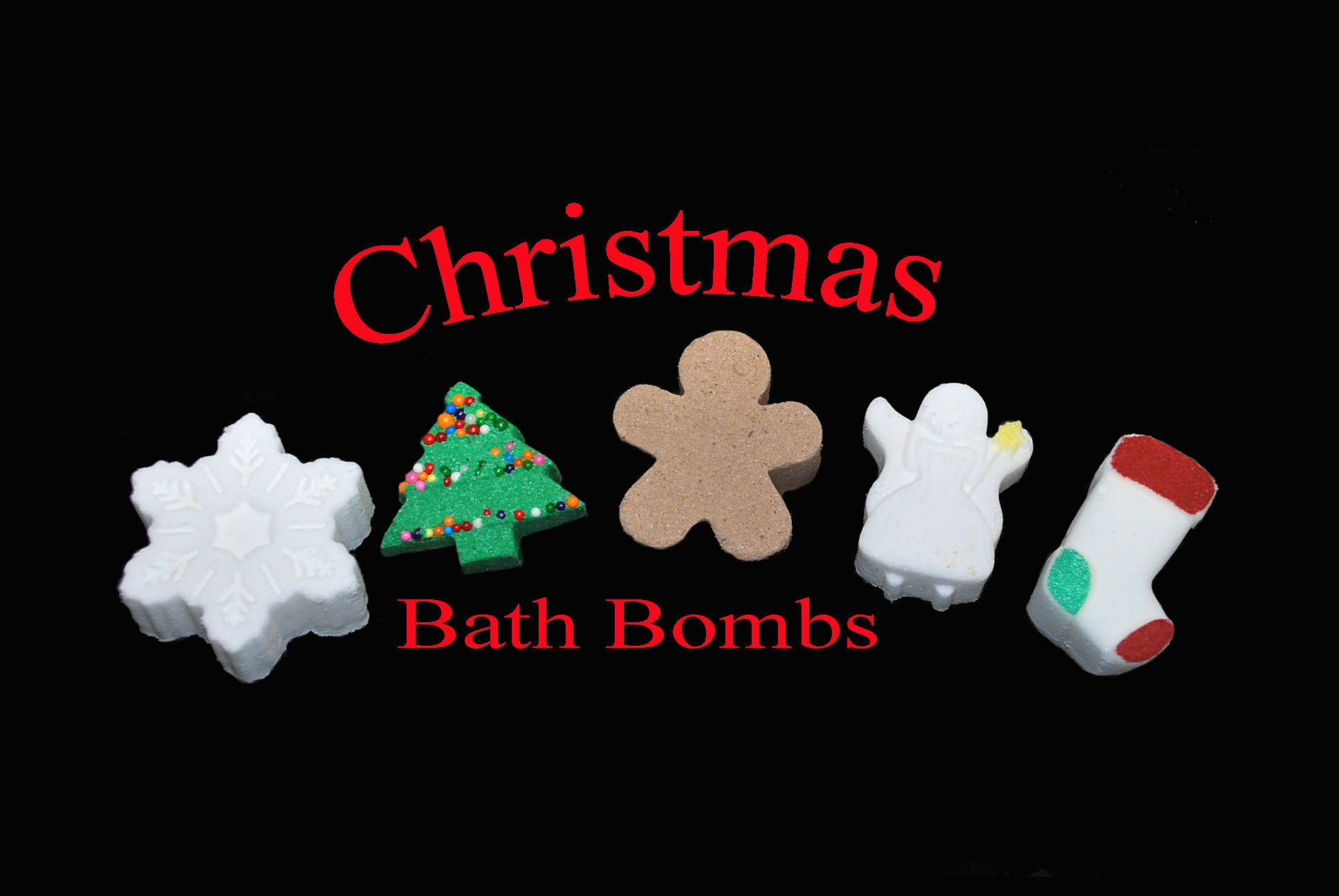 free shipping 50 mini christmas bath bombs bulk gift for students gift for