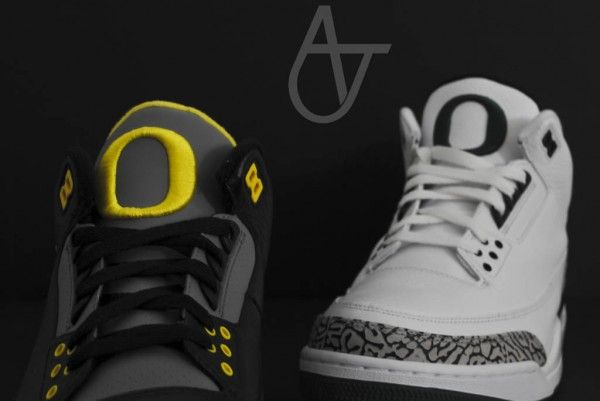 Air Jordan III (3) Oregon  Home  PE  61ba627ee6