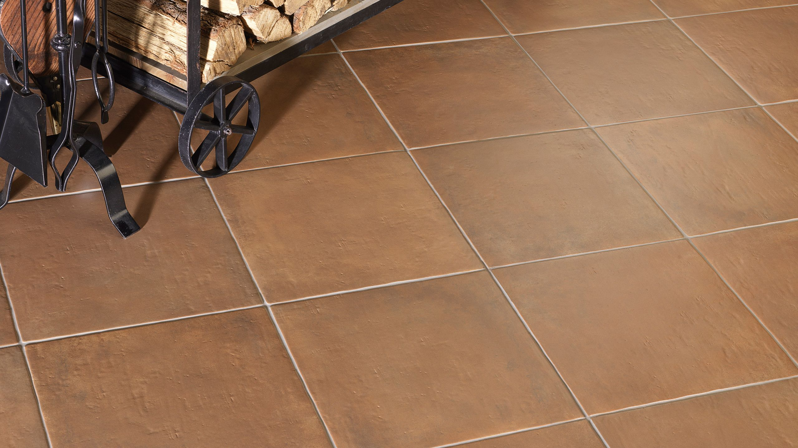 Cotto Nature 14 X 14 Floor Wall Tile In Siena Flooring Wall Tiles Floor And Wall Tile