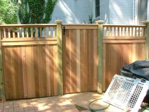 Accokeek Fence Company, Inc - Alexandria , VA) PRIVACY FENCE