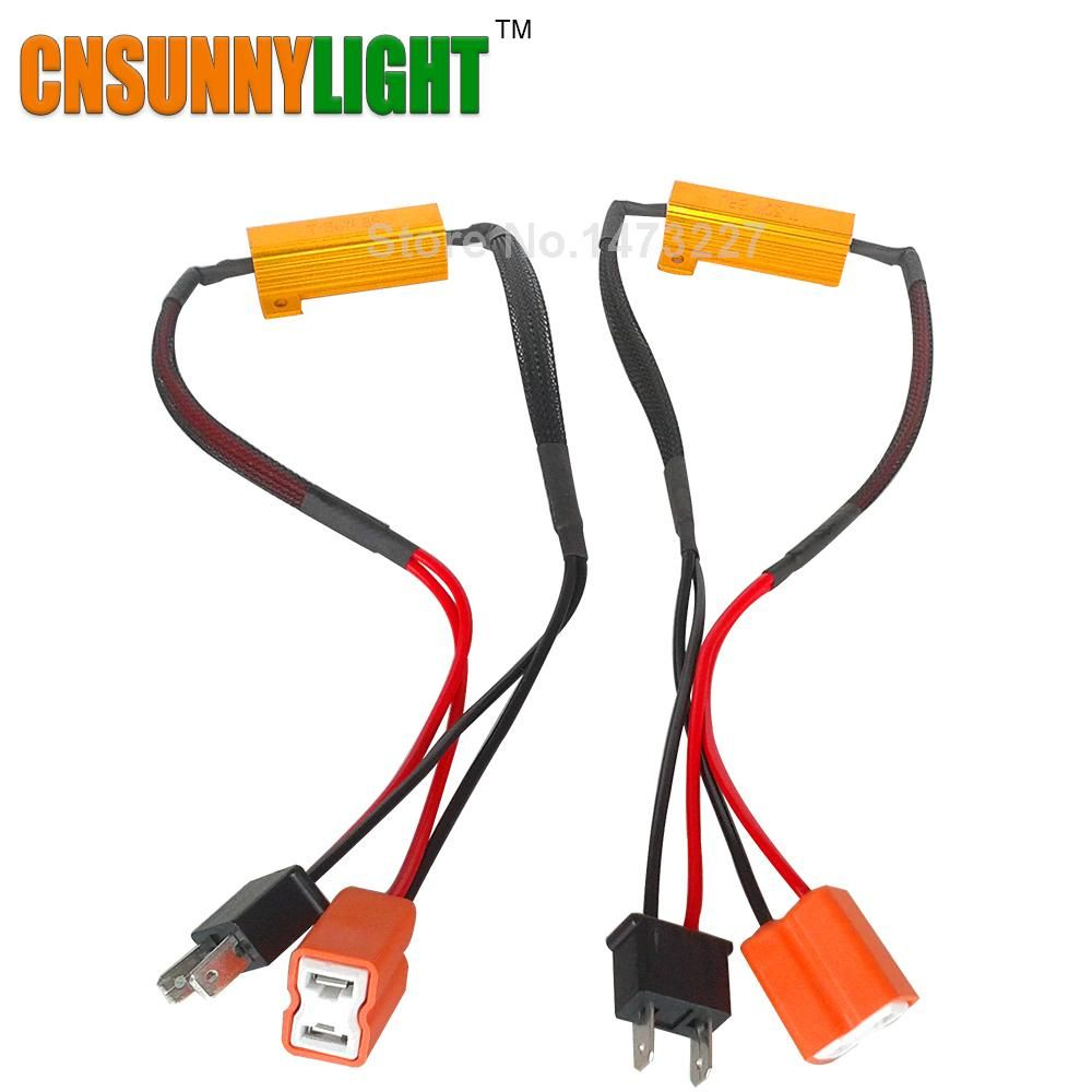 CNSUNNYLIGHT LED Bulb Decoder Resistor Canbus Wire Harness Adapter on e2 wiring harness, h13 wiring harness, h22 wiring harness, h2 wiring harness, h3 wiring harness, hr wiring harness, t3 wiring harness, b2 wiring harness, drl wiring harness, h8 wiring harness, c3 wiring harness, g9 wiring harness, ipf wiring harness, h1 wiring harness, h7 wiring harness, s13 wiring harness, h15 wiring harness, h11 wiring harness, f1 wiring harness,