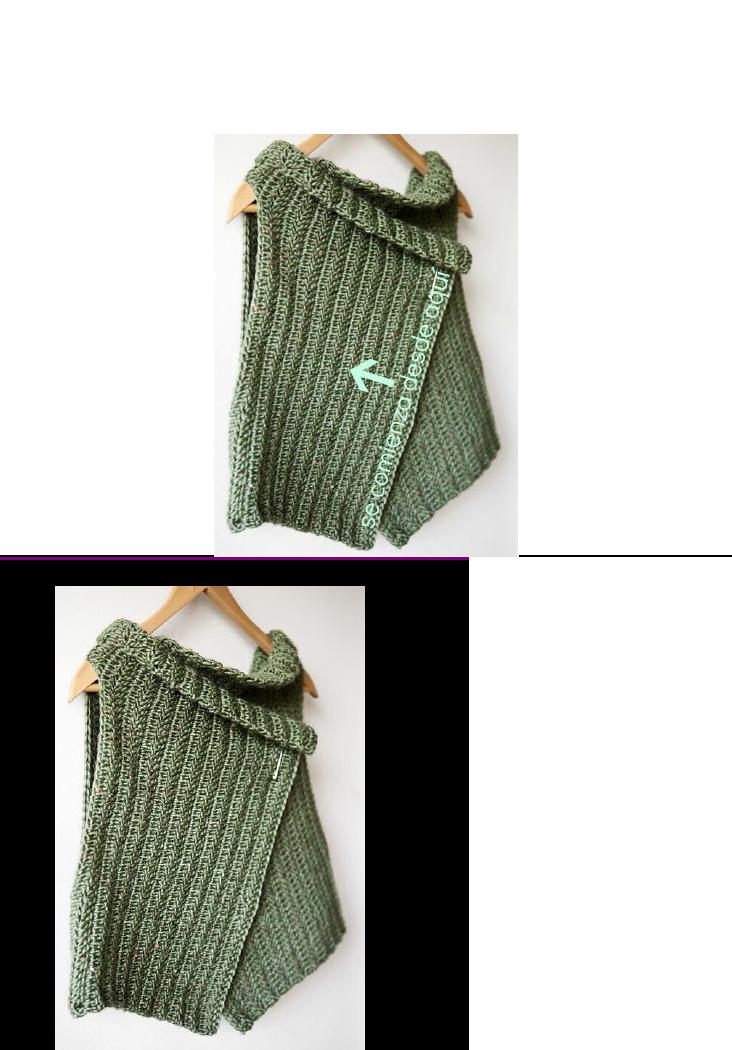 Patrón chaleco (español) | tejido telar | Pinterest | Chalecos ...