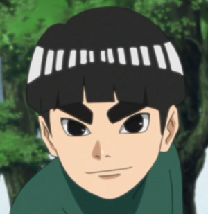 Metal Lee Rock Lee Naruto Haikyuu Anime Lee Naruto