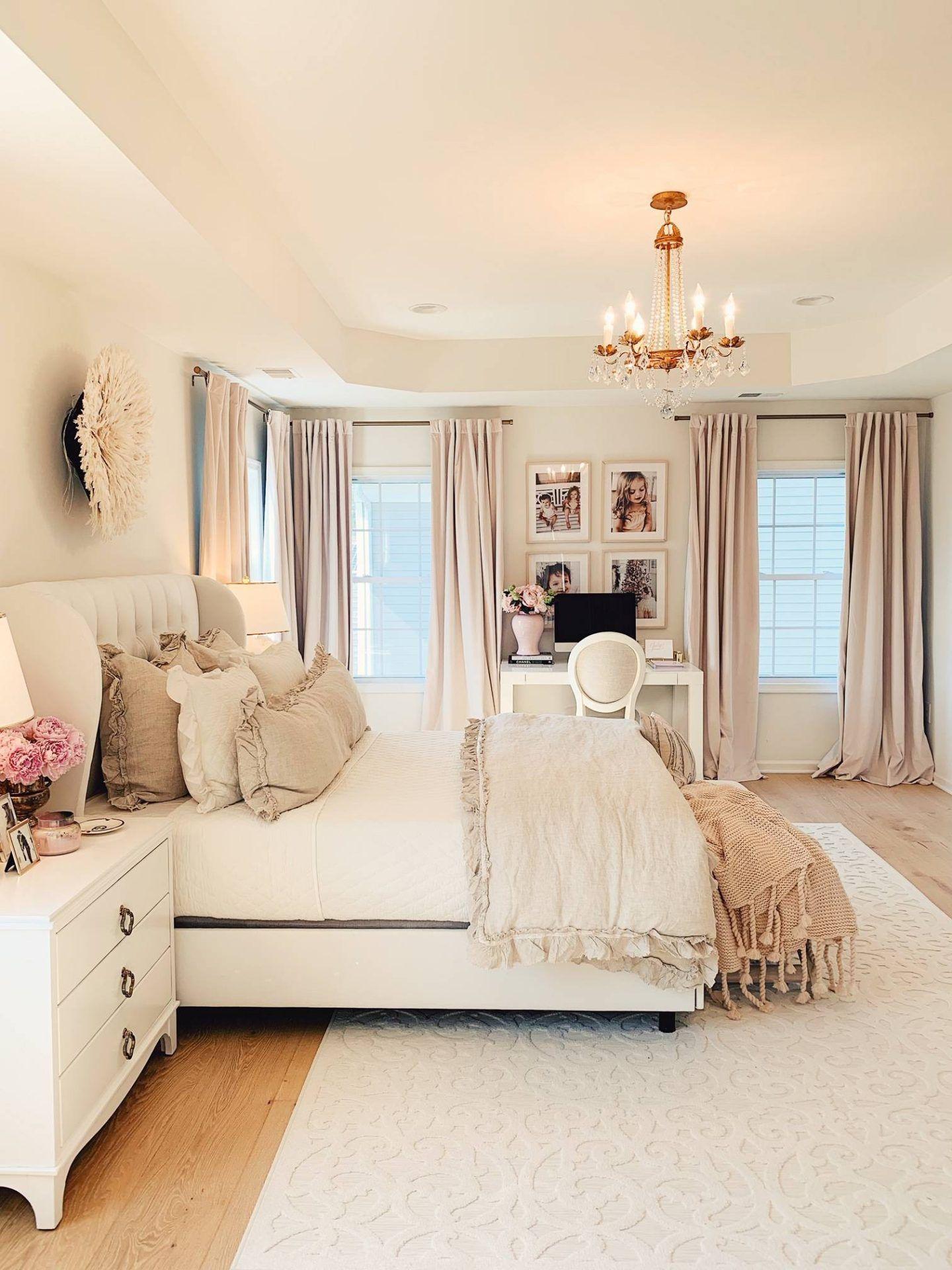 Master Bedroom Decor A Cozy Romantic Master Bedroom The Pink Dream Dream Master Bedroom Master Bedrooms Decor White Master Bedroom Romantic master bedroom designs